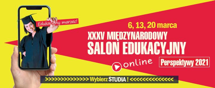 Spot dla maturzystów – Międzynarodowy Salon Edukacyjny 6,13,20 marca